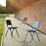 Ray Café Chair (2pcs) | Charcoal Black