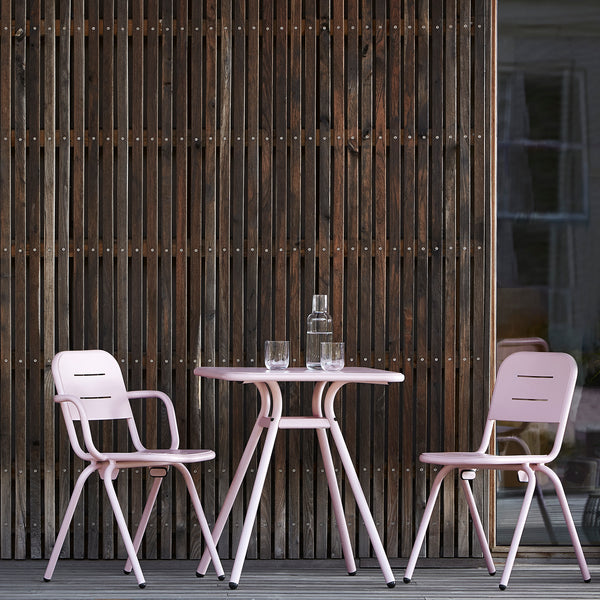 Ray Café Chair (2pcs) | Rose Pink