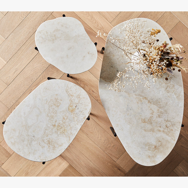 La Terra Occasional Table | Ivory (L)