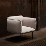 Nakki 1-Seater Chair | Grey