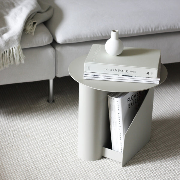 Sentrum Side Table | Warm Grey