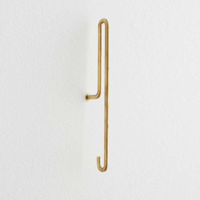 Wall Hook | Brass, Large