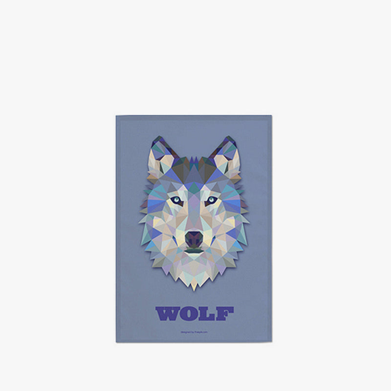 Fabric Poster : Wolf (M)