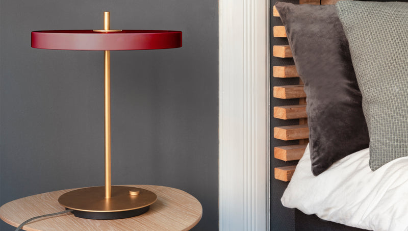 Asteria Table | Ruby Red