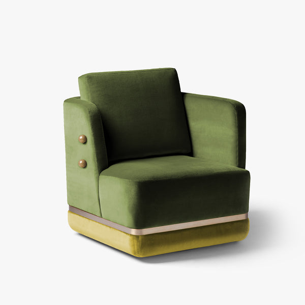 Panorama Swivel Armchair | Kiwi