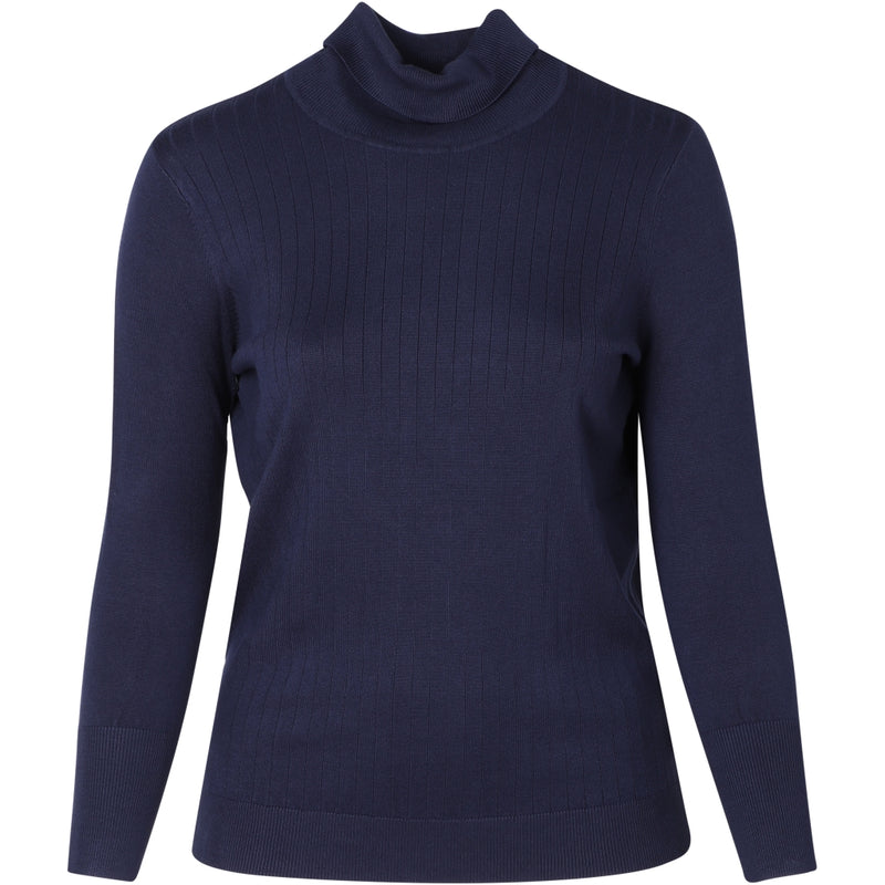 Adia Angie Striktrøje 4644 Midnight Navy