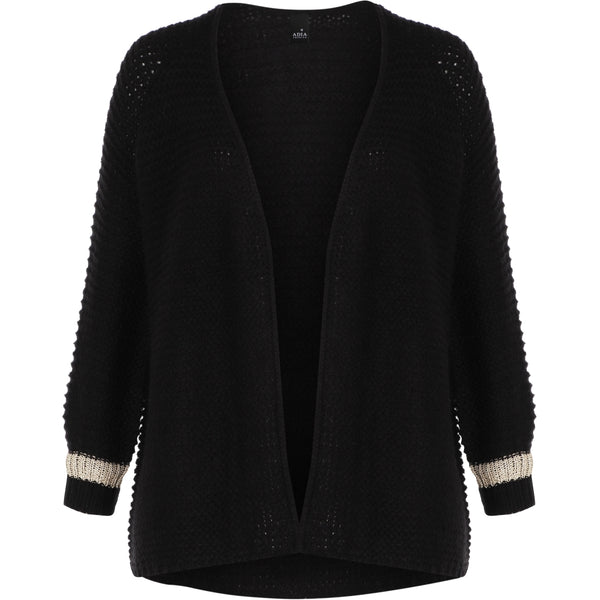 Adia Aseta Strik Cardigan 9998 Black