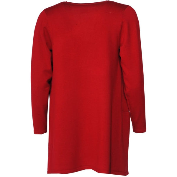 Pont Neuf Belinda Strik Cardigan 354 Warm Red