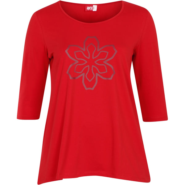 Aprico Illinois T-Shirt 050 Red