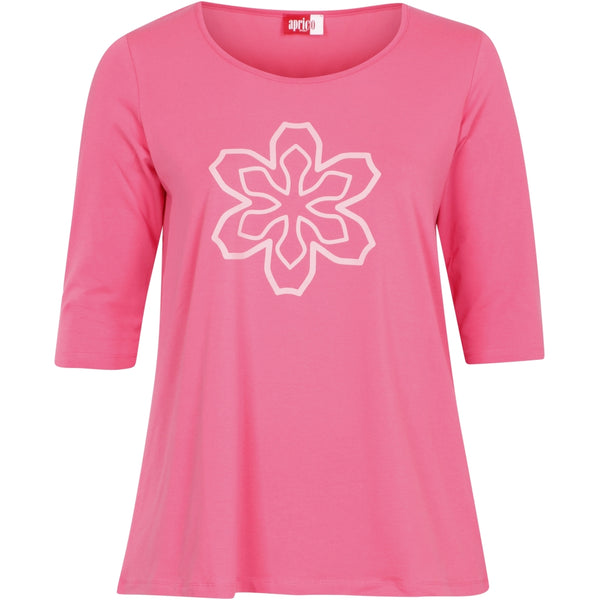 Aprico Illinois T-Shirt 053 Pink