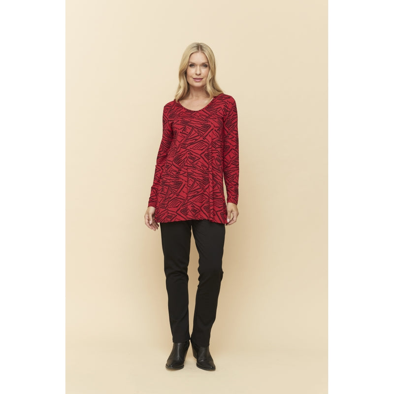Pont Neuf Jannie Bluser 354 Warm Red