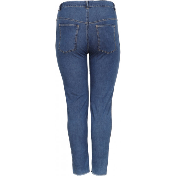 Aprico Texas Jeans 493 Medium Blue Denim