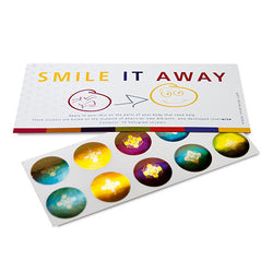 SMILE IT AWAY HOLOGRAM STICKERS
