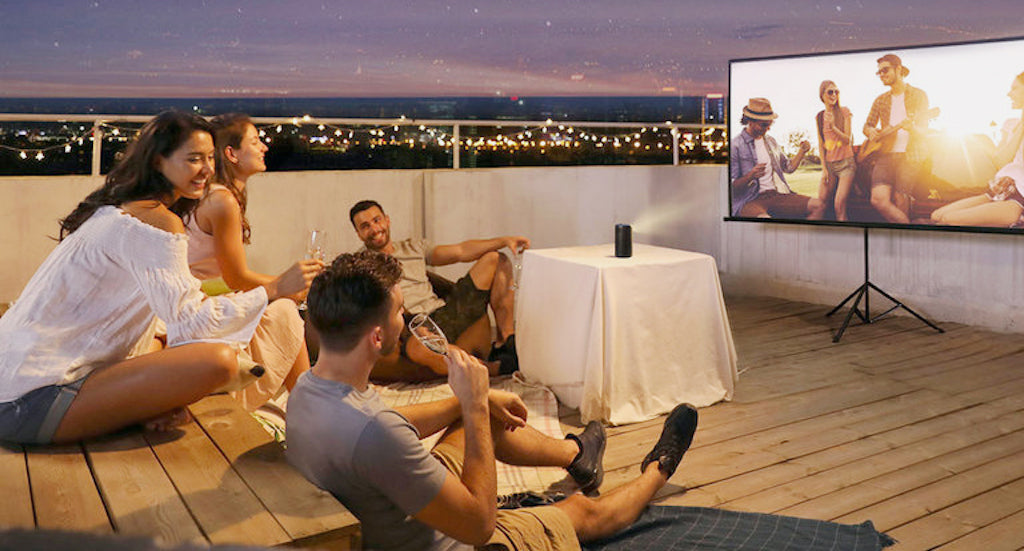 Outdoor home theater guide