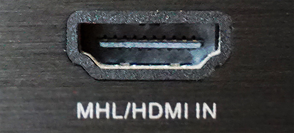 MHL HDMI In Port