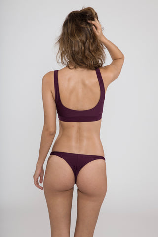 Roxana Bottom // Aubergine