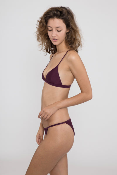 Sofia Bottom // Aubergine