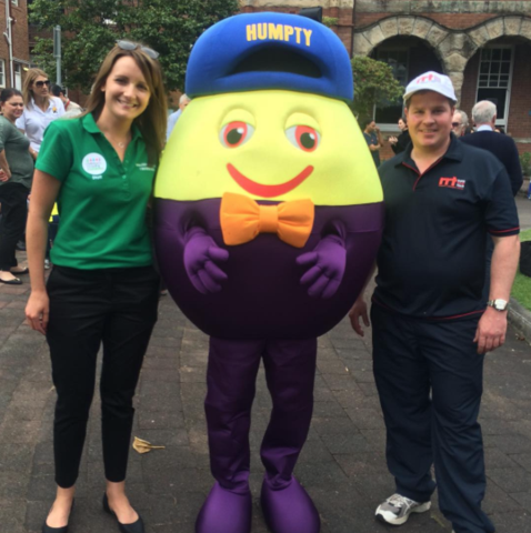Supporting the Humpty Dumpty Foundation