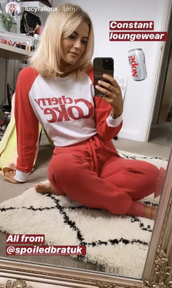 Lucy Fallon wears Wildfox-Spoiled Brat