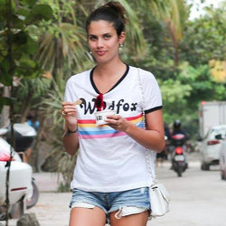 Sara Sampaio wears Wildfox Couture in Mexico-Spoiled Brat