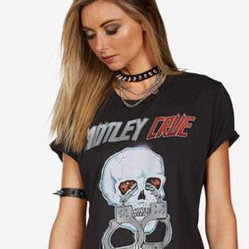 shop Motley Crue T-Shirts and Merchandise Online