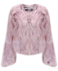 Urbancode Chevelle Pink Faux Fur Chubby Jacket