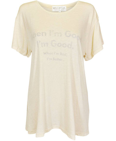 Wildfox When I'm Good Manchester Tee £39.99