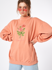 Minga London Too Cute To Care Embroidered Sweater as seen on Nina Nesbitt