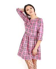 Tallulahs Threads Skater Style Tartan Dress