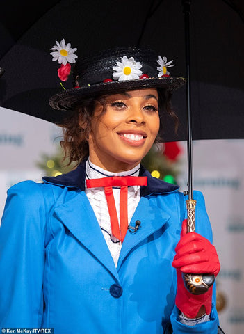 Rochelle Humes dresses as Disneys Mary Poppins