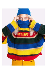 Minga London Weirdo Knit Striped Jumper