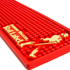 Tapis de Bar (Bar Mat) «RED LABEL»