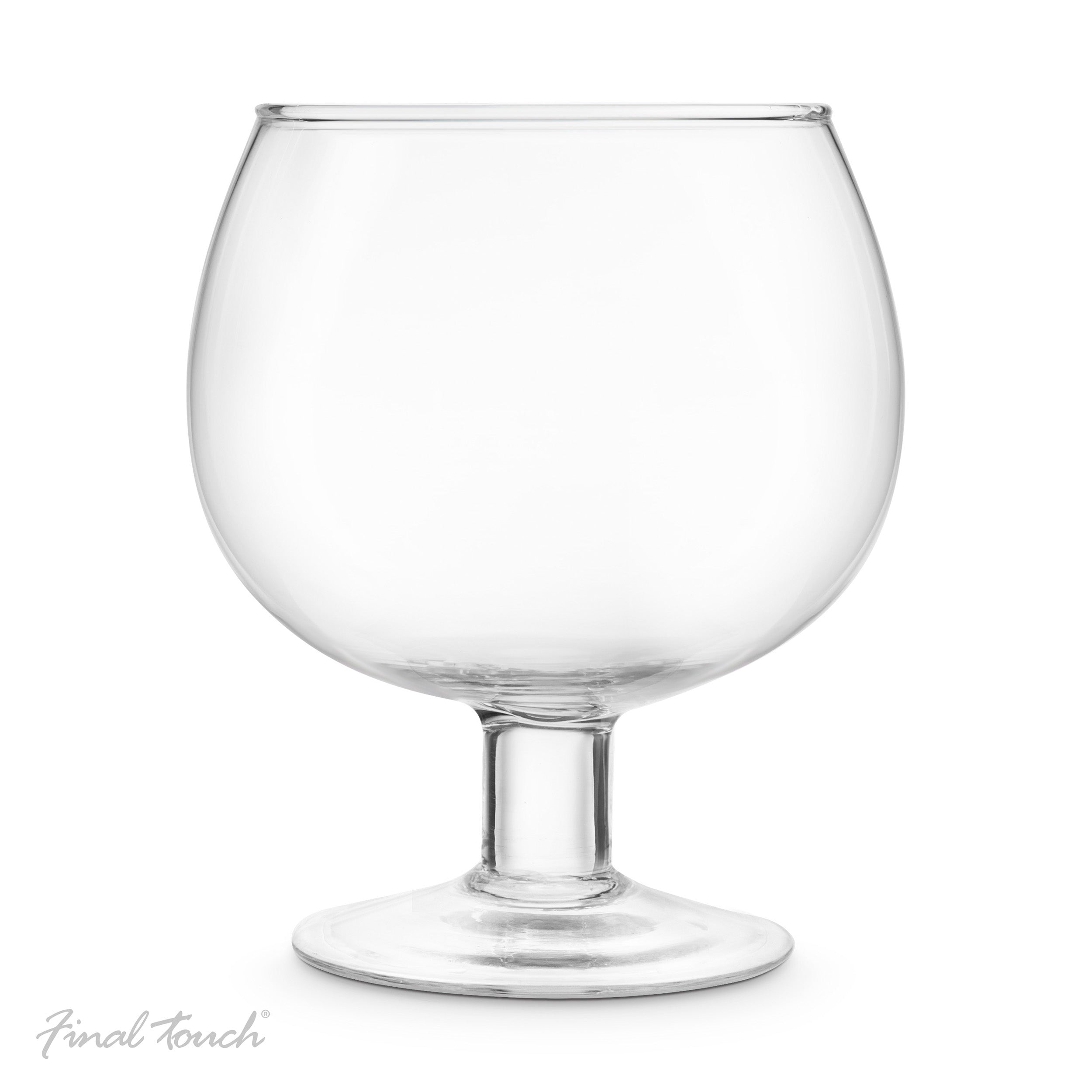 "Verre à cocktail ""Bocal à poisson"""