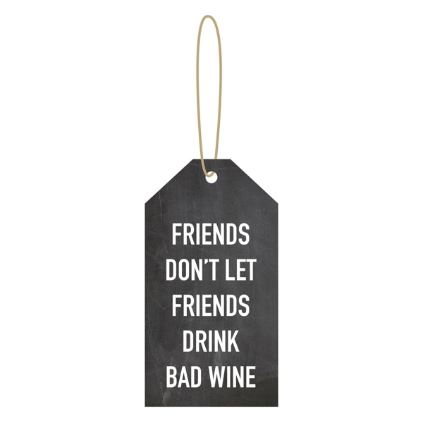 Étiquette à vin ''FRIENDS..''