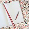 The BLOX A4 Notebook: Red - Internal Page