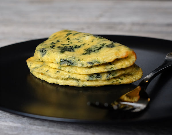 FETA & SPINACH OMELETTES
