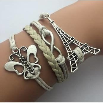 Sunday Gold - Butterfly Fashion Multilayer Bracelet