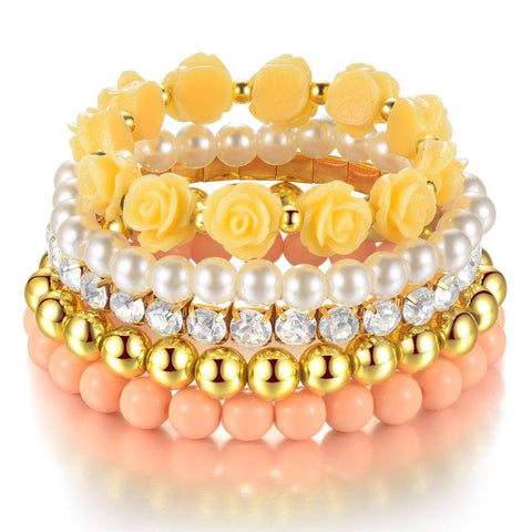Bracelets - Princess Multilayer Elastic Bracelet