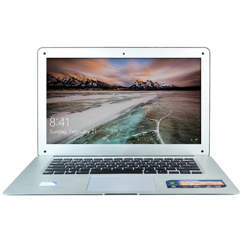 Sunday Gold - 8GB RAM & 128GB SSD Quad Core Laptop Computer WIFI Mini HDMI 1.3 Webcam 14 Inch Screen Windows 10