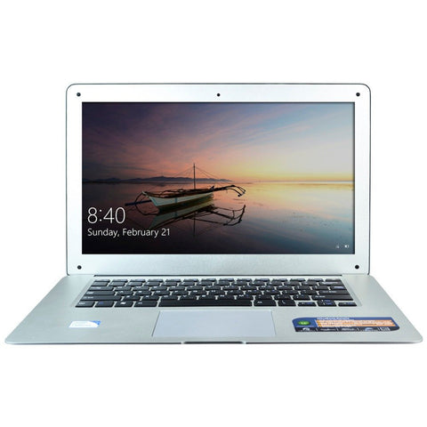 Sunday Gold - H-ZONE Quad Core Laptop Computer Windows 10 Notebook 4GB RAM & 320GB HDD Wifi Mini HDMI 14 Inch 1600*900 Screen