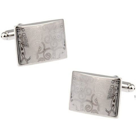 Sunday Gold - Artistic Square Cufflinks