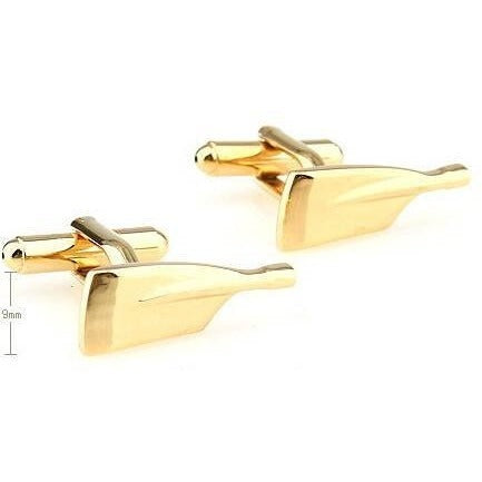 Sunday Gold - Gold Oar Cufflinks