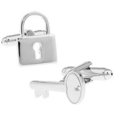 Cufflinks - Lock And Key Cufflinks