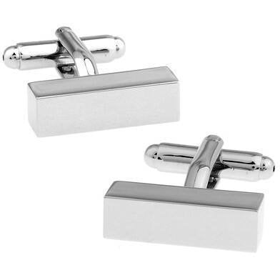 Cufflinks - Long Block Cufflinks
