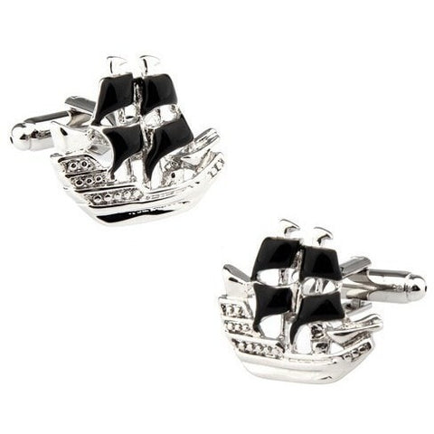 Cufflinks - Pirate Ship Cufflinks