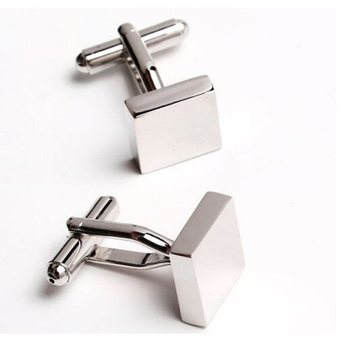 Cufflinks - Square Block Cufflinks