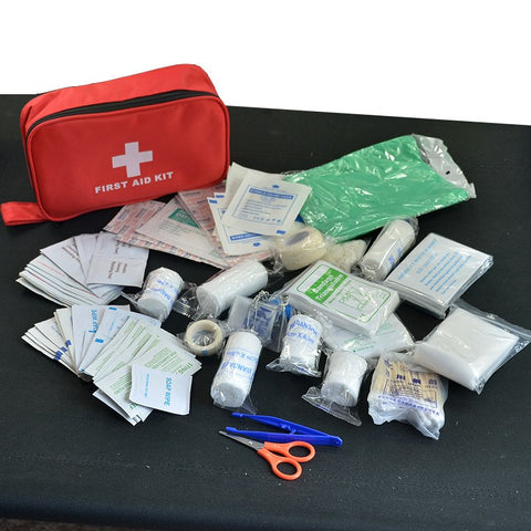 Emergency - 180pcs/pack Safe Travel First Aid Kit Camping Hiking Medical Emergency Kit Treatment Pack Set Outdoor Wilderness Survival