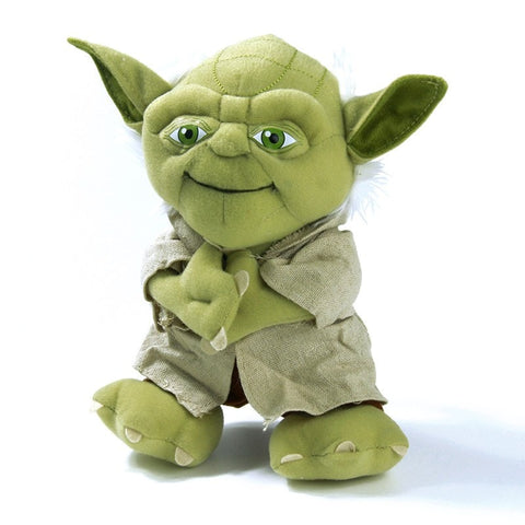 Figures - Star Wars Master Yoda Plush Toy Star Wars Yoda Figure Toy 21cm Cute Mini Yoda Stuffed Toy Doll For Birthday Christmas Gift