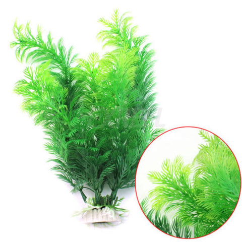 Fish - Green Underwater Plant Fish Tank Decoration