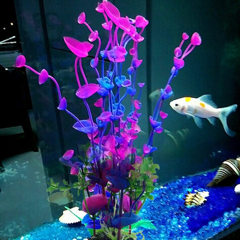 Fish - Wonder Grass Plastic Fish Tank Decoration